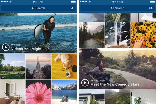 Instagramが検索画面に動画チャンネルを追加