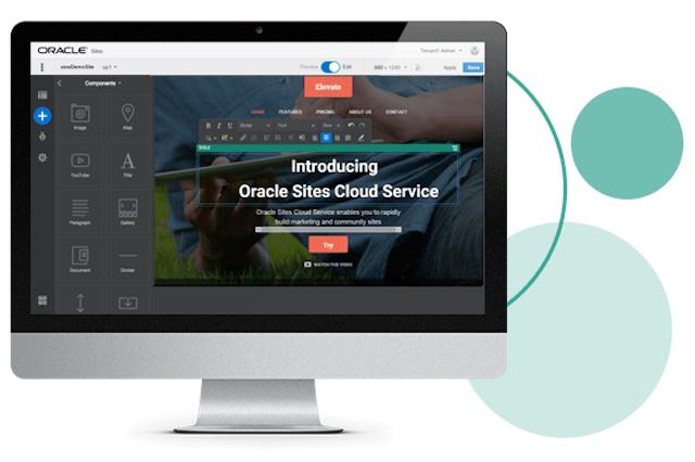 オラクルがクラウド型Webサイト構築アプリの提供開始