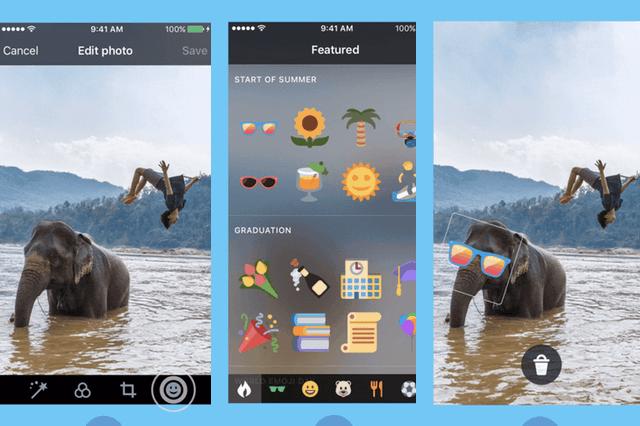 Twitter、写真を装飾するステッカー機能を公開