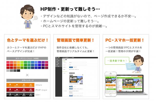 WAKUWAKU HomePageの特徴