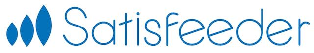 店舗顧客アンケートASP「Satisfeeder(サティスフィーダー)のロゴ