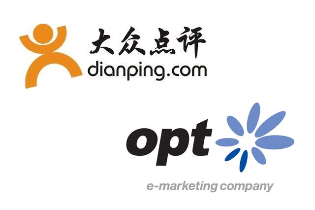 オプト、中国アプリ大衆点評と販売代理契約を締結