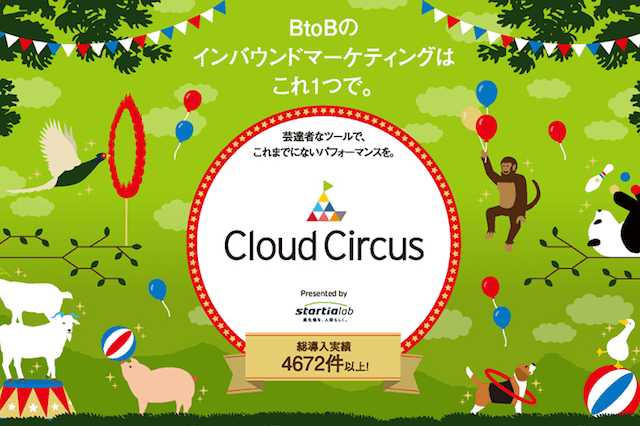 Cloud Circus(クラウドサーカス)、AR利用後のサイト内行動分析に対応