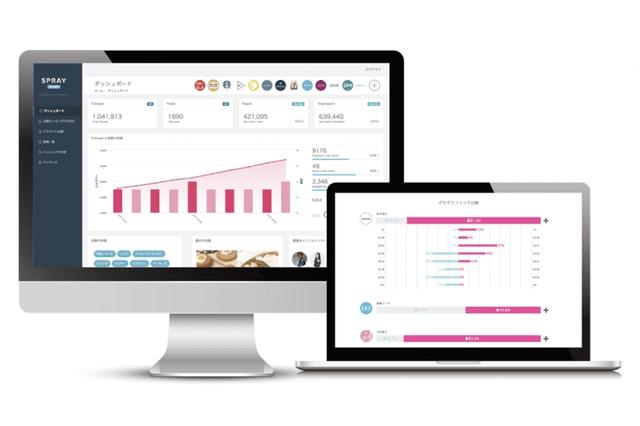 インスタ比較分析ツール、SPRAY Insightが新機能を追加